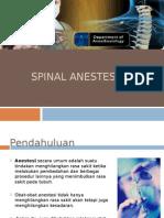 Spinal Anestesi