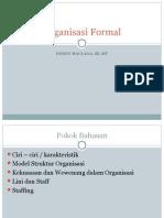Organisasi Formal