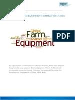Farm Equipment Market (2014 – 2020) - Agriculture