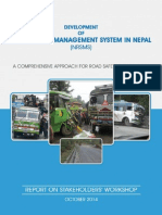 Development of Road Safety Management System in Nepal