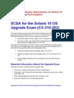 Solaris10 upgradeExam PS