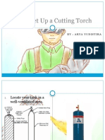 How to Set Up a Cutting Torch