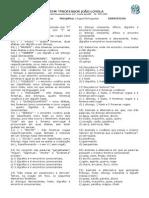 Exercícios Fonologia Revisão