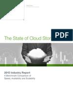Nasuni 2015 State of Cloud Storage Report