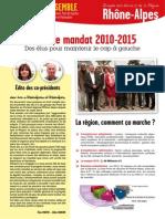 BILAN FDG Région Rhône-Alpes 2010-2015