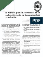 Material Para La Enseñanza de Las Matemáticas
