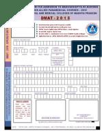 Application Form DMAT - 2015