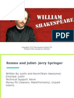 copy of romeo and juliet - jerry springer edition