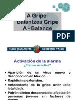 A GripeBalantzea Gripe a - Balance
