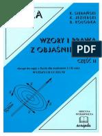 Sierański K, Jezierski K, Kołodka B - Fizyka. Wzory i Prawa z Objaśnieniami II