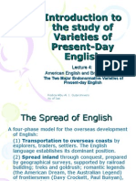Lecture 4 American English and British English u2013 the Two