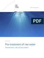 PACS Pre Treatment of Raw Water Web