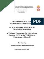 3. Interpersonal and Communication Skills