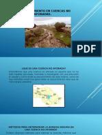 5.1 Escurrimiento en Cuencas No Aforadas