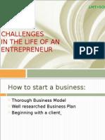 3. Challenges for Entrepreneur