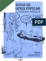 Cesar Mella - Notas de Psiquiatria Popular