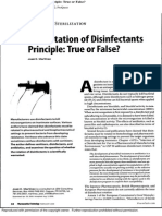 The rotation of Disinfectans Principle