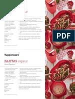 Recette Fajitas Tupperware