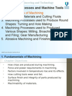 1.0 Fundamentals of Machining (a)