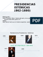 Las Presidencias Históricas
