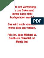 Michael W Smith, ein Wolf im Schafspelz! Version 1.0