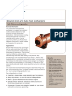 Brazed Shell-And-tube Heat Exchangers