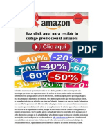 Codigo Promocional Amazon