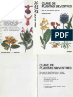 Clave de Plantas Silvestres