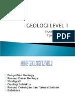 Slide 1. Geologi
