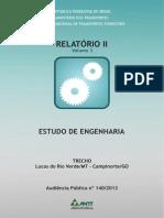 Relatório 2 - Vol III - Campinorte - Lucas Do Rio Verde - AP