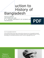 Introduction to Legal History of Bangladesh
