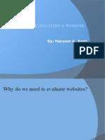maryam evaluating a website (1)