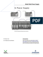 DeltaV Bulk Power Supply PDS January 2013