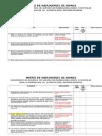 Matriz Acuerdos de Gestion Octubre 2011