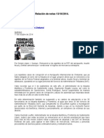 Relación de Notas 13-10-2014