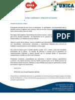 4. Curso Liderazgo y Trabajo en Equipo IEC UNICA