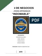 Plan de Negocios Cervezas Artesanales Indomable