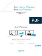 All about Zoompresence Webinar March 2015