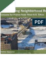 Empowering Neighborhood Revitalization