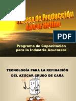 producción de azucar refino