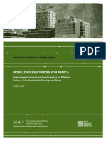 Mobilizing Resources for Africa