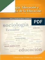 Sociologia, Educacion y Sociologia de La Educacion