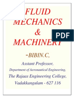 113851176 Fluid Mechanics and Machinery Notes