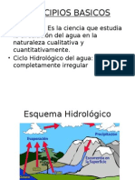 PRINCIPIOS BASICOS HIDROLOGIA