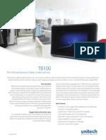 TB100 Tablet