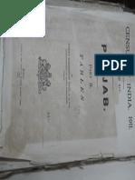 1911 census report of Punjab