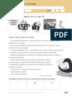 Fichas ortografias português