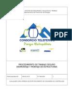 PE-01-Procedimiento Desmontaje y Montaje de Estructuras CTPM