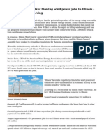 Governor Scott Walker blowing wind power jobs to Illinois - Milwaukee Green Living