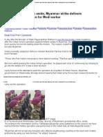 Parrikar's Jibe at Pak Aside, Myanmar Strike Delivers Unpleasant PR Lesson for Modi Sarkar